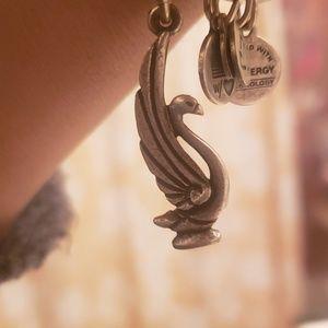 Alex and Ani swam charm bangle bracelet